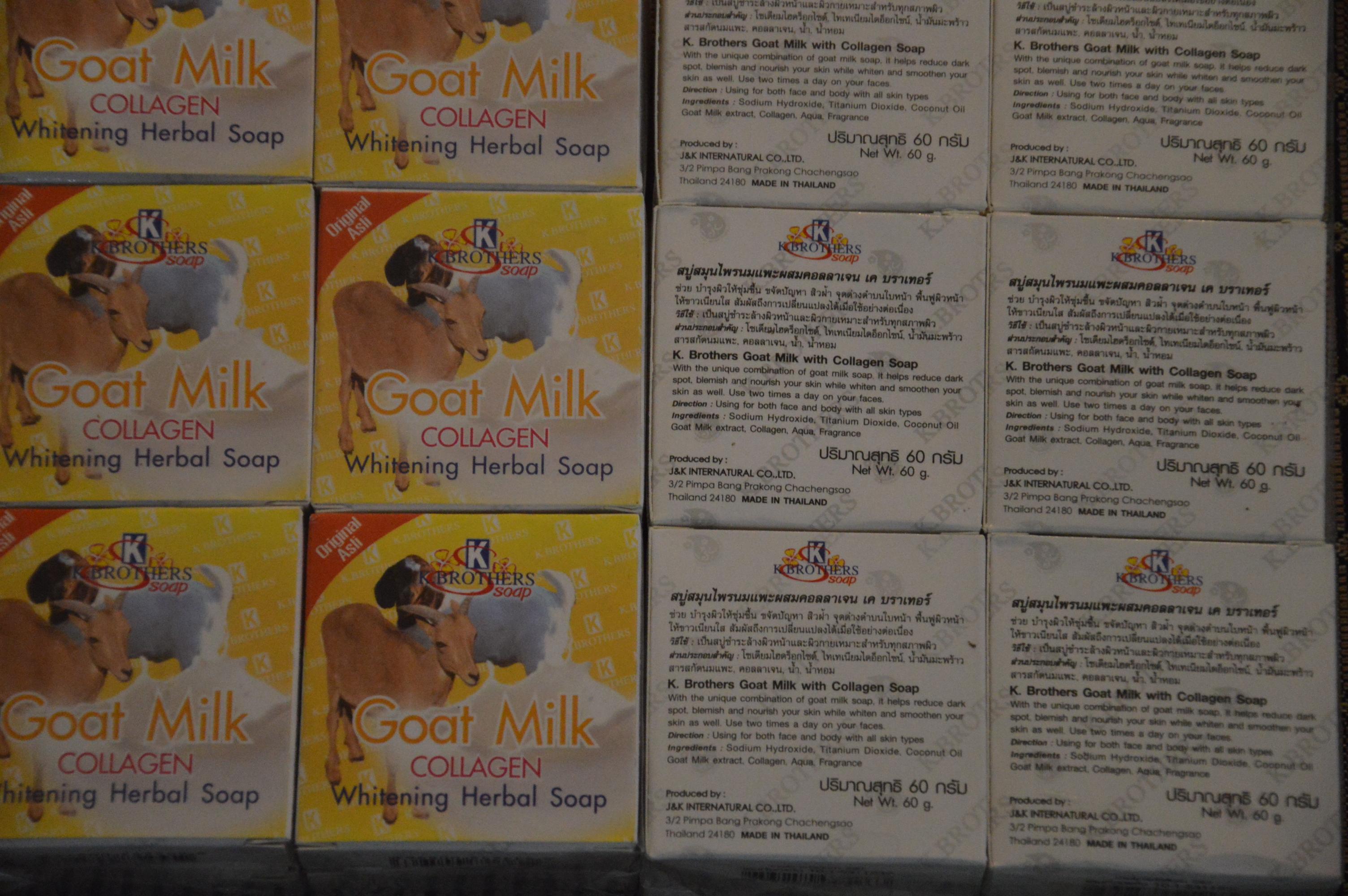 Sabun Susu Kambing Collagen K Brothers Slim Express By Tk Natural Dsc 0227